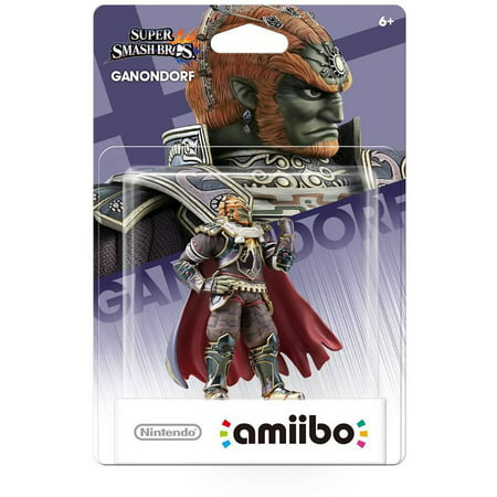 Ganondorf Super Smash Bros Series Amiibo  Nintendo Wiiu Or New Nintendo 3Ds