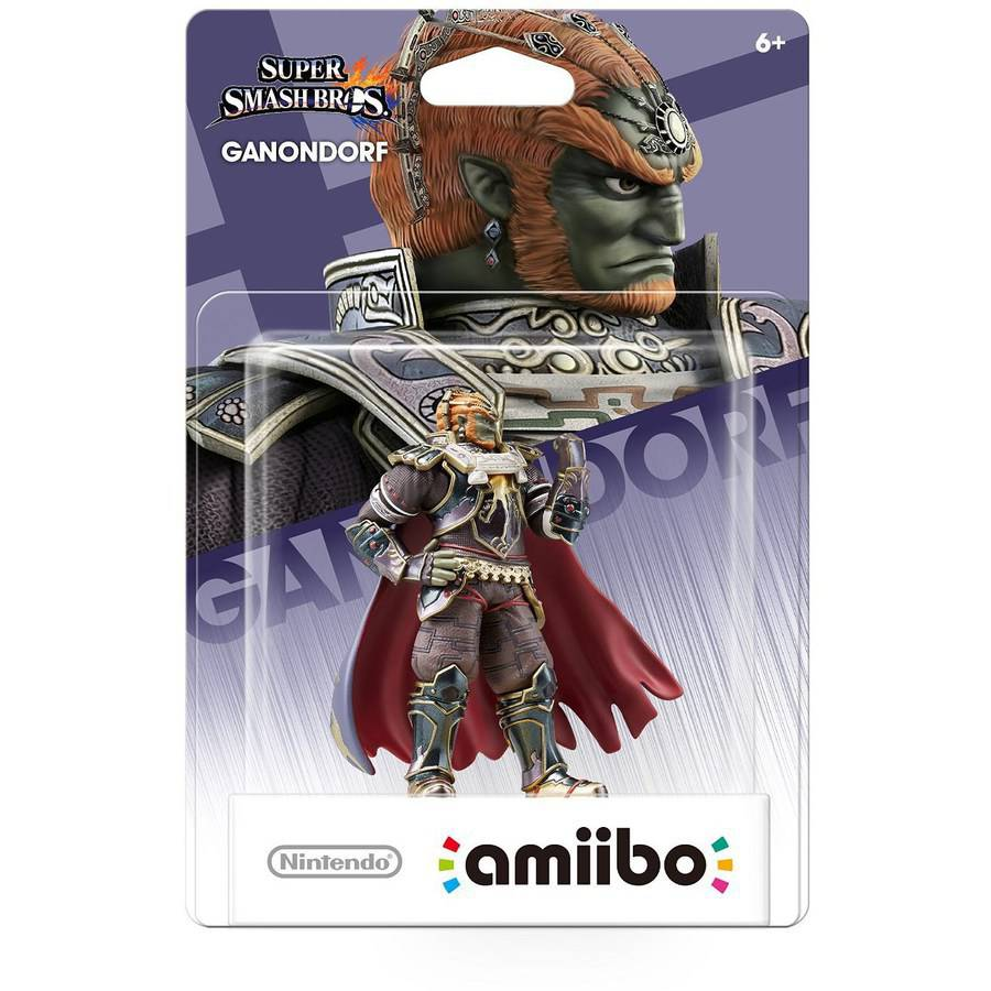 Ganondorf Super Smash Bros Series amiibo (Nintendo WiiU or New Nintendo 3DS)
