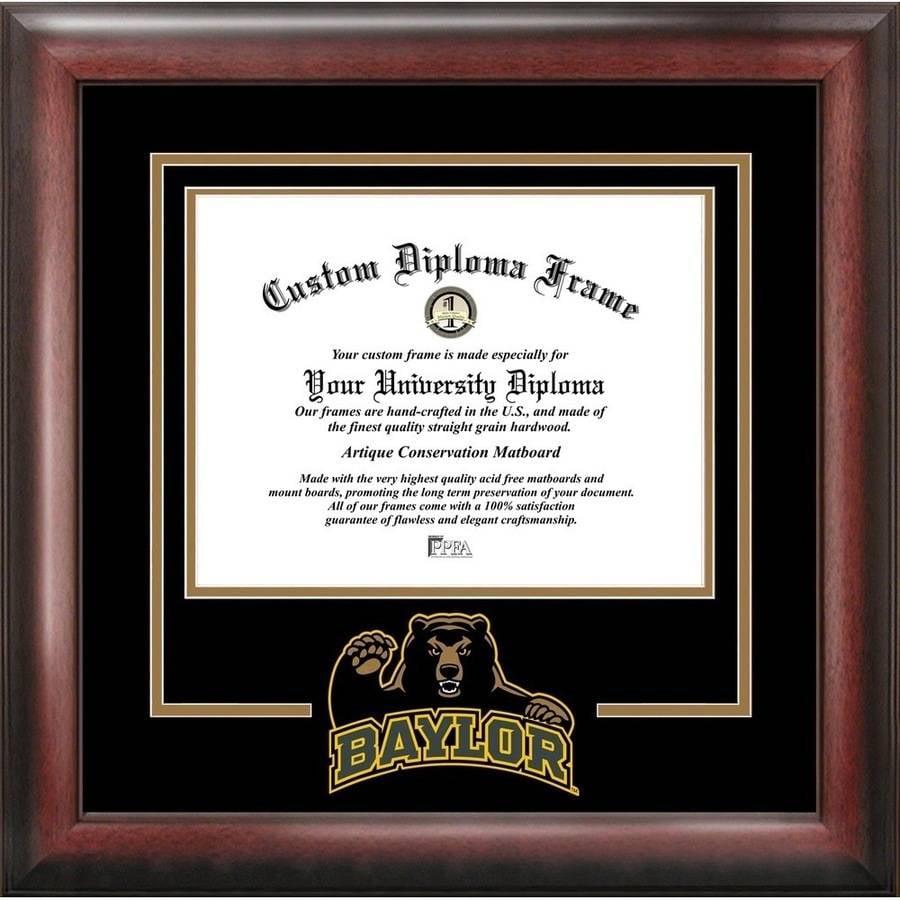 "Baylor University Bears 11"" x 14"" Spirit Diploma Frame"