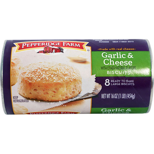 Pepperidge Farm Garlic & Cheese Biscuit, 8 ct / 16 oz