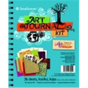Strathmore 6. 5 x 8 inch Double Sided Art Journal Kit, 100 Lbs.