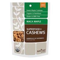 Navitas Organics Maca Maple Cashews 4 oz 231137 2 PACK OC