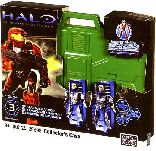 Halo OF Spartan-II Armor Collector's Case Set Mega Bloks 29699 by