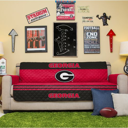 Ncaa Licensed Furniture Protector Sofa Couch Cover