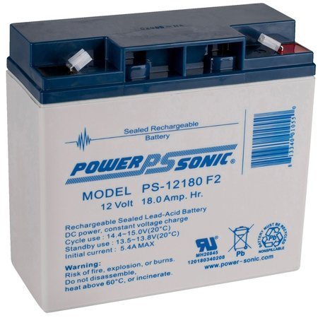 Yuasa Lead Acid Batteries - PS-12180 12v 18Ah Lead Acid Battery 12VOLT F2 TERMINAL