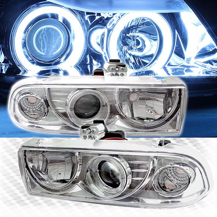 For CCFL Halo 1998-2004 Chevy S10 Blazer Pro Headlights Head Lights Lamp  Pair Left+Right/1999 2000 2001 2002 2003