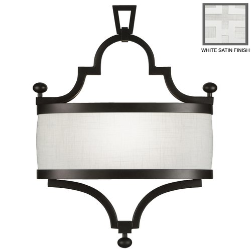 Fine Art Lamps Black + White Story 1-Light Wall Sconce