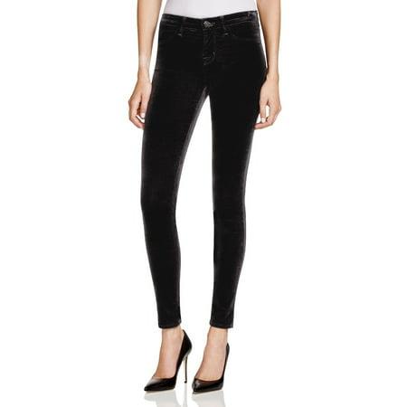 J Brand NEW Black Womens Size 24x29 Super Skinny Textured