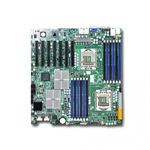 Supermicro X8DTH-6F-O Dual LGA1366 Xeon  Intel 5520  DDR3  V&2GbE  EATX Server Motherboard by Supermicro