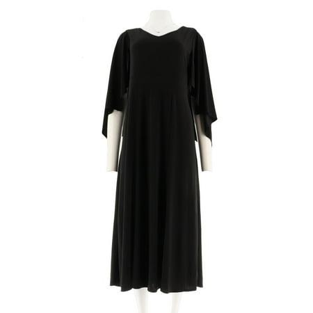 Antthony Paris Love Capelet Maxi Dress - Velvet Capelet