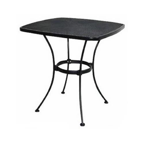 Woodard Cm WI 300 T Uptown Collection Patio Bistro Table, Steel Mesh,