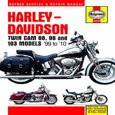 harley davidson twin cam 88 96 and 103 service and. Black Bedroom Furniture Sets. Home Design Ideas
