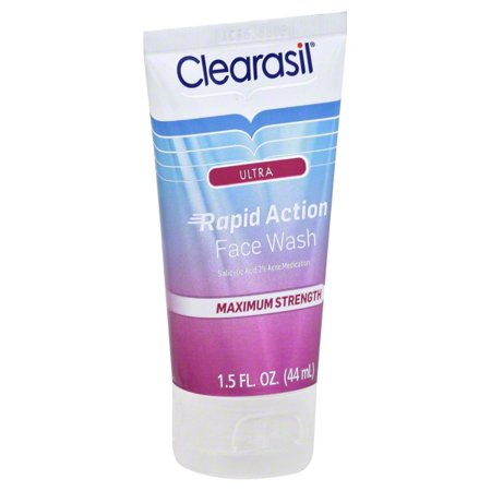 Clearasil Ultra Rapid Action Daily Face Wash 1 5 oz