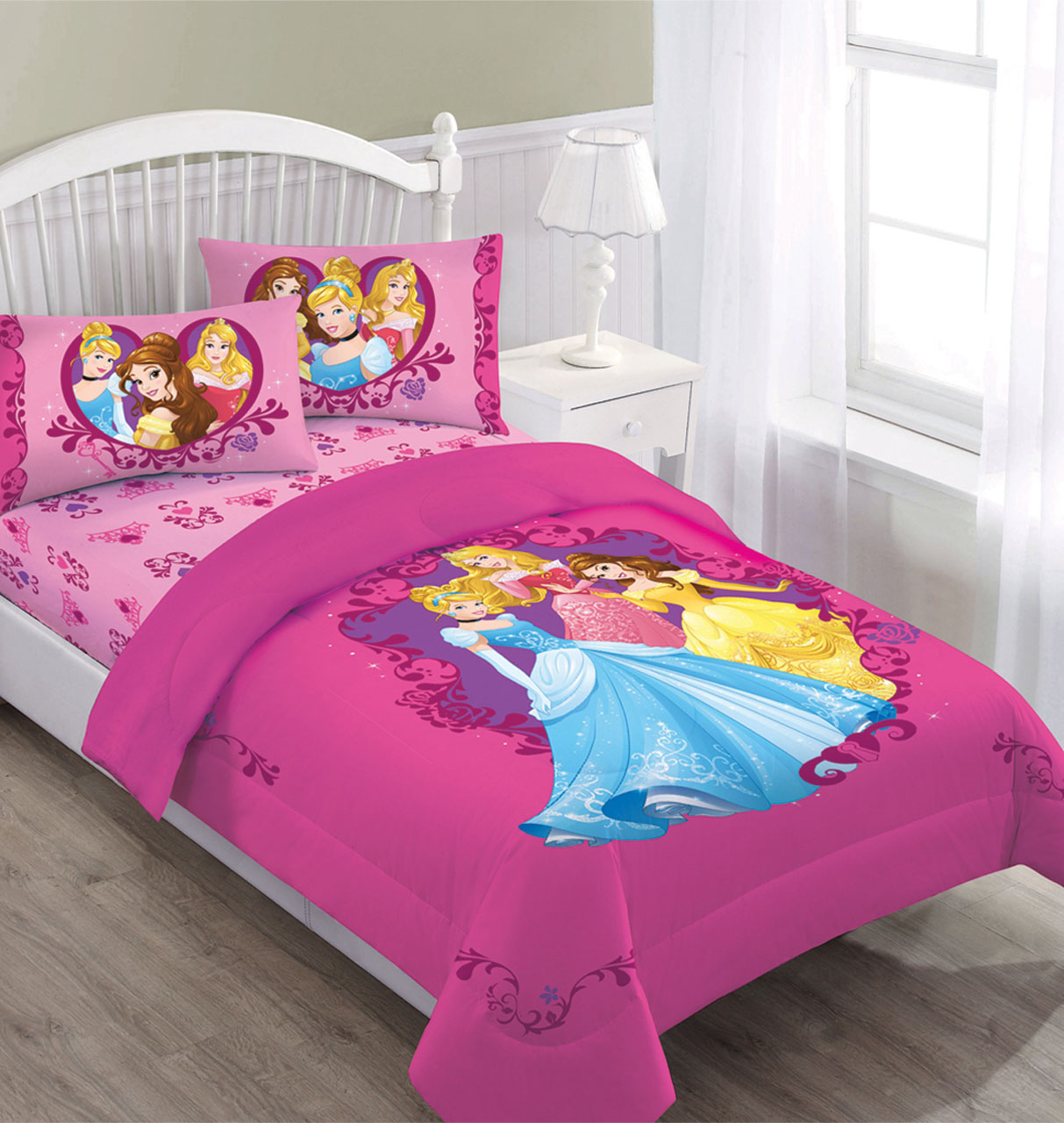 Disney Princess Gateway to Dreams Twin Bedding Comforter Set by