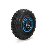 ECX Front/Rear Pre-mounted Tire (2): 1:18 4WD Temper ECX41003