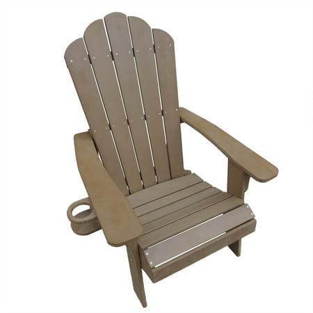 Island Retreat Adirondack Chair - Outdoor Deck, Patio Seating
