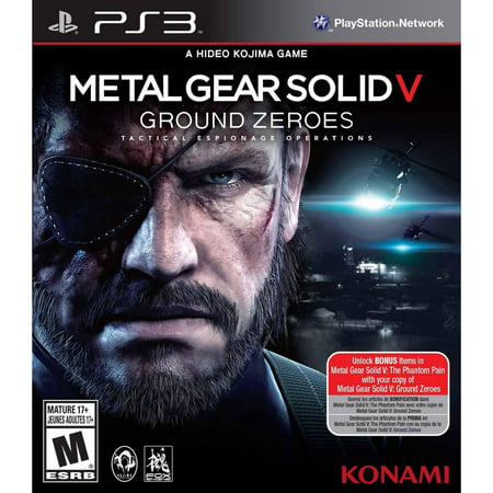 Metal Gear Solid V: Ground Zeroes (PS3) - Pre-Owned (Metal Gear Solid V Ps3)