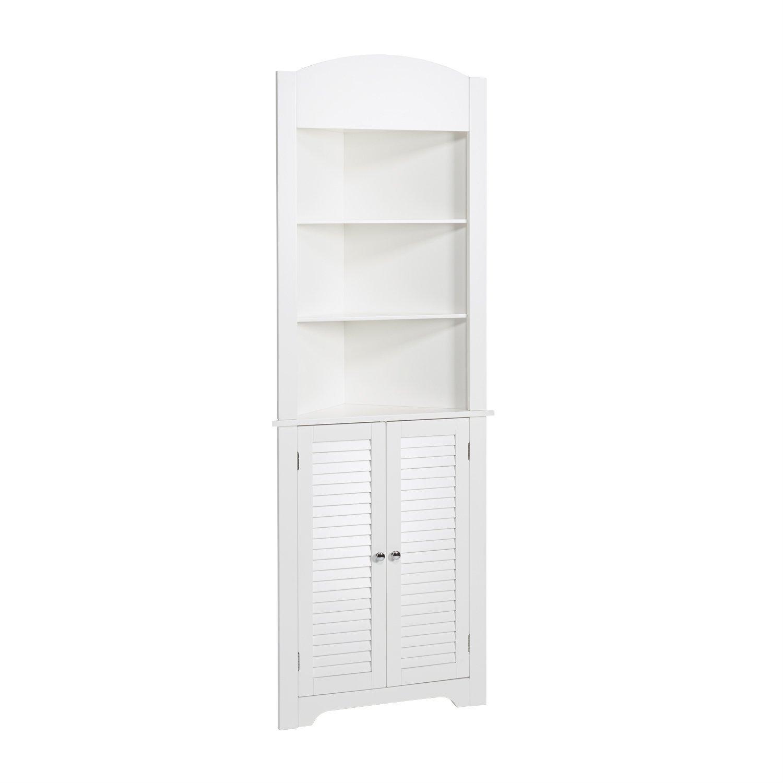 RiverRidge Home Ellsworth Collection Tall Corner Cabinet,...