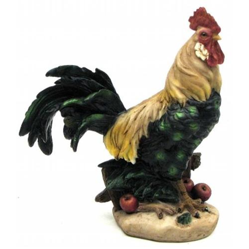International Wholesale Gifts 049-33228 Colorful Farm Rooster