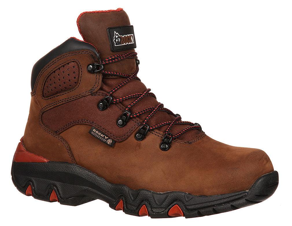 Rocky Big Foot Men US 11 W Brown Steel Toe Work Boot by Rocky