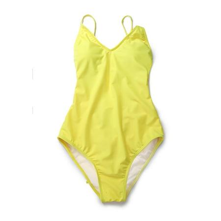 97788d6c3 SAYFUT Womens Sexy One Piece Swimsuits Halter V-Neck Push Up Padded  Slimming Monokini Swimwear Soild Color Bathing Suits White Yellow Dark  Blue Lake Blue  ...