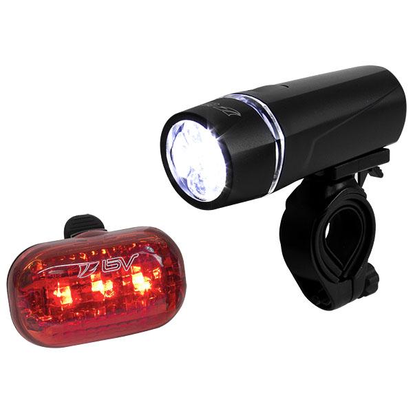 Bicycle Led Light Set By Schwinn One Headlight One Taillight