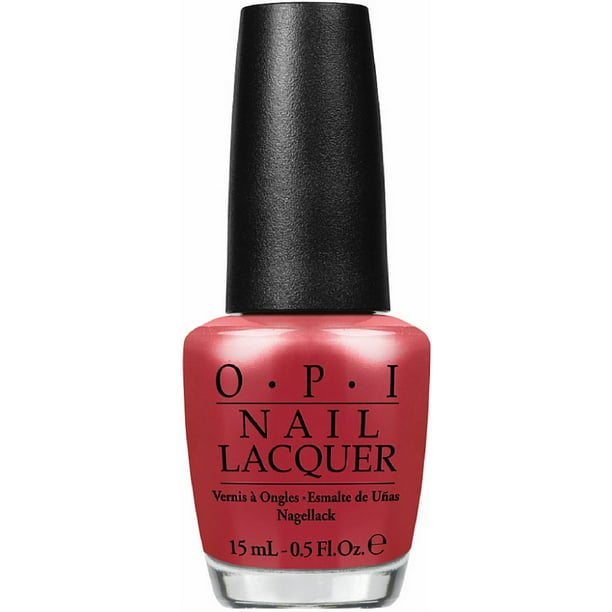 OPI Nail Lacquer, Go With The Lava Flow 0.50 oz
