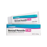 Perrigo 2.5% Benzoyl Peroxide Acne Treatment Gel, 2.1 Oz.