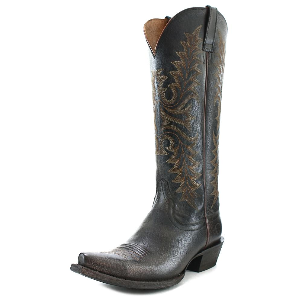 Ariat Revel Women  Pointed Toe Leather Black Western Boot