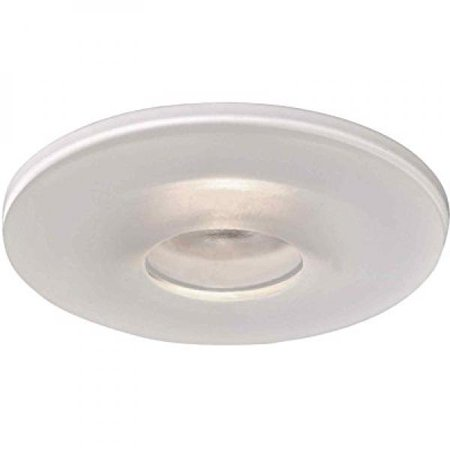 Voltage Miniature 3 Inch Recessed (Halo Recessed 3017FGS 3-Inch Frost All-Glass Curve Shower Trim with White Base)