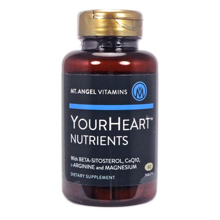Nutrients 60 Tablets (Your Heart Nutrients  by Mt Angel - 60 Tablets )
