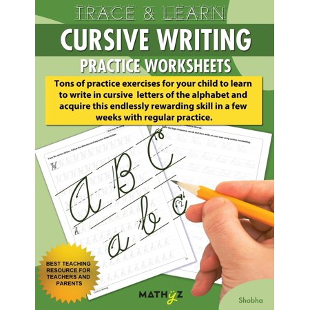 Trace & Learn - Cursive Writing: Practice Worksheets (Paperback) (Halloween Worksheet Grade 2)