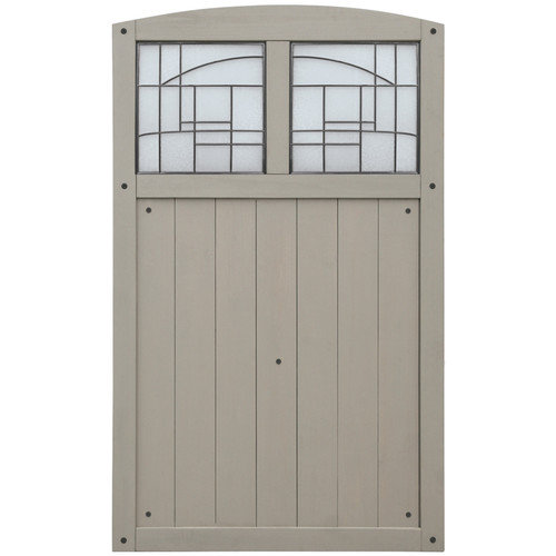 Yardistry Faux Glass Gate