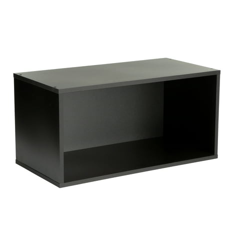 (Large Modular Open Cube, Black)