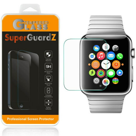 Series Screen Protector Kit ([2-Pack] For Apple Watch Series 4 (44 mm) - SuperGuardZ Tempered Glass Screen Protector, Anti-Scratch, 9H Hardness, Anti-Bubble, Anti-Shock)