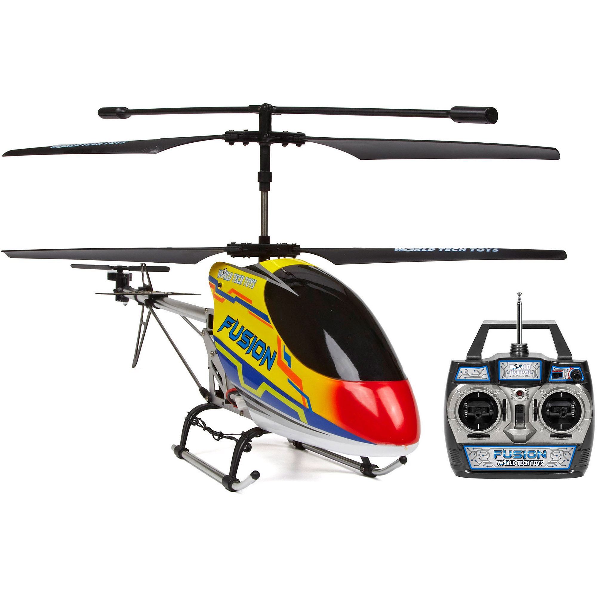 World Tech Toys GYRO Fusion 3.5CH Outdoor RC Helicopter by World Tech Toys