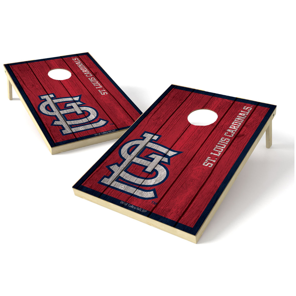 2X3 Shield Game MLB Big Vintage St. Louis Cardinals