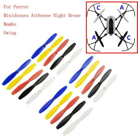 One Set Propeller Blade Mini Drones For Parrot Mambo UAV Parts - image 2 de 5