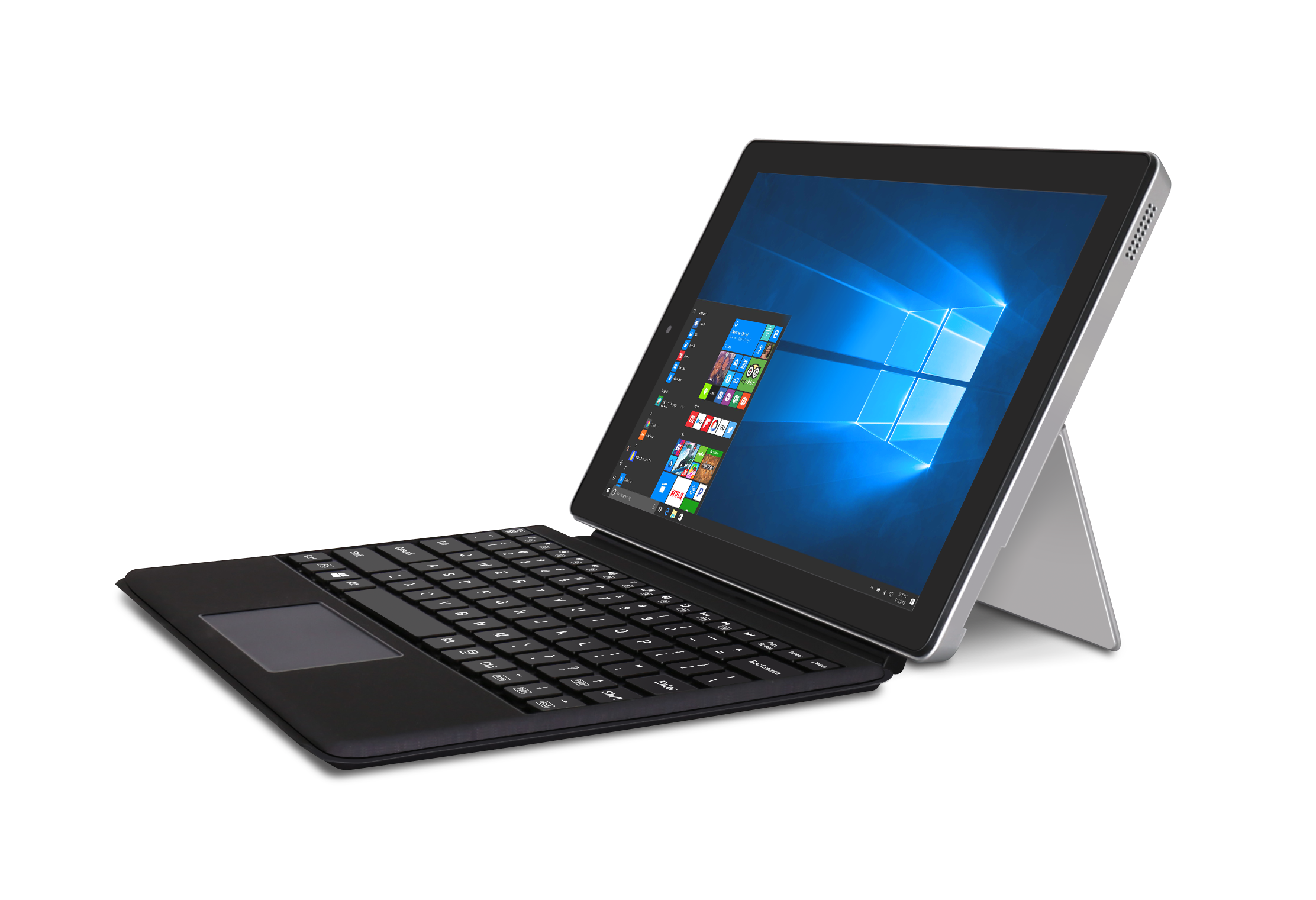 RCA Cambio 10 1-Inch (2-in-1) Windows Touchscreen Tablet/Notebook -  Detachable Keyboard & Dual Camera - 32GB, Bluetooth (W101SA23T2)