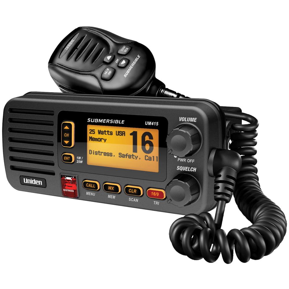 Uniden UM415BK Oceanus D Marine Radio (Black) by Uniden
