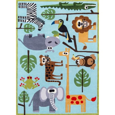 Momeni Lil Mo Whimsy Safari Area Rug 5