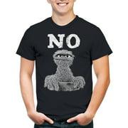 Sesame street grouch no Men's graphic tee