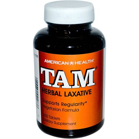 American Health Tam Herbal Laxative Tablets, 250