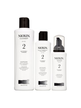 ($61 Value) Nioxin System 2 Start Kit, 3 Piece Set