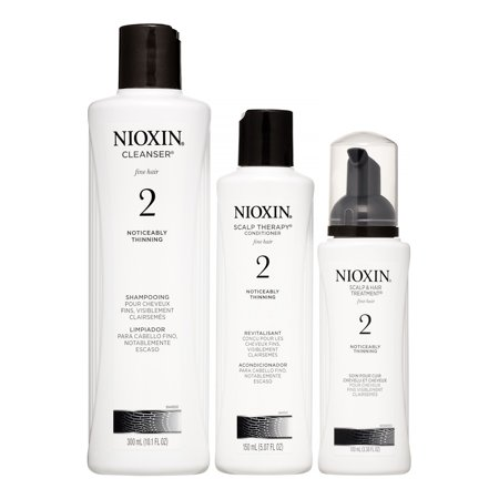 Nioxin System 2 Start Kit, 3 Piece Set
