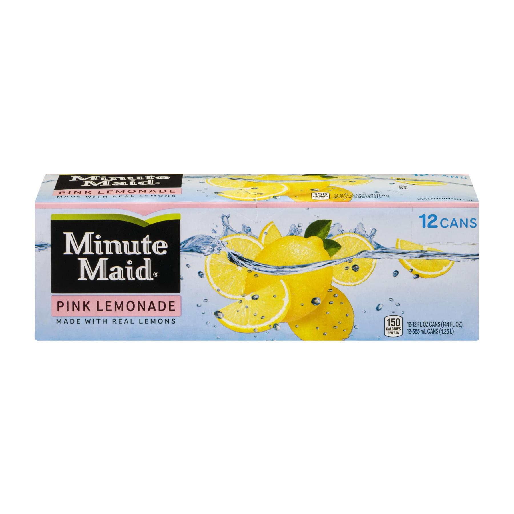 Minute Maid Pink Lemonade, 12 count