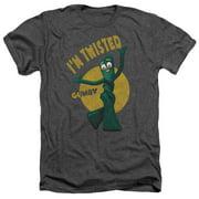 Gumby - Twisted - Heather Short Sleeve Shirt - X-Large