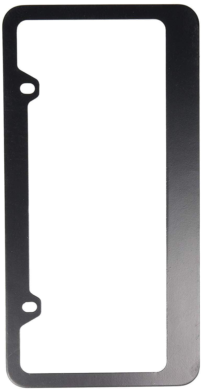 Blank Black Metal License Plate Frame Walmart Com