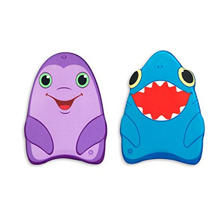 Melissa & Doug Sunny Patch Dolphin and Shark Kickboards - Learn-to-Swim Pool Toys (Set of 2) - image 4 de 4
