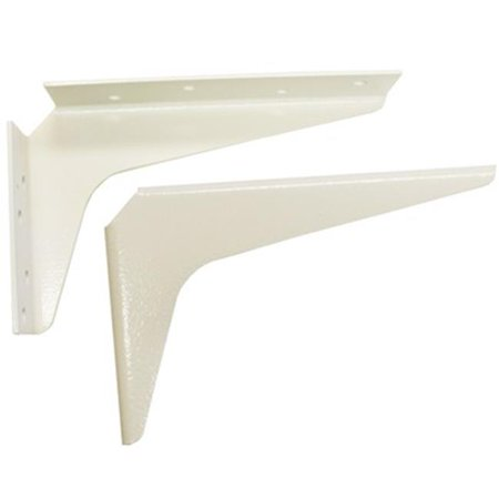 Workstation Brackets - Am0812 W 8 In. X 12 In. Work Station Brackets - White